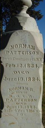 PATTERSON, NORMAN - Woodbury County, Iowa | NORMAN PATTERSON