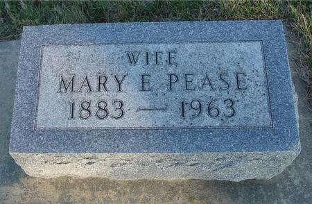 PEASE, MARY E. - Woodbury County, Iowa | MARY E. PEASE