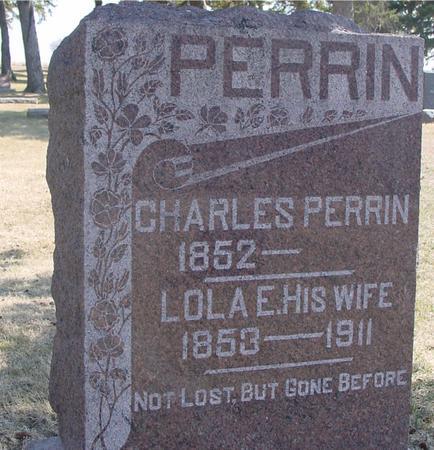 PERRIN, CHARLES & LOLA - Woodbury County, Iowa | CHARLES & LOLA PERRIN