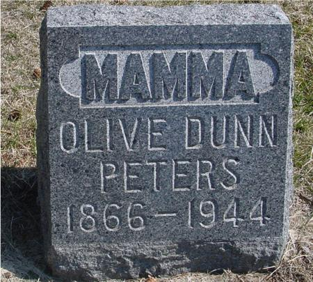 DUNN PETERS, OLIVE - Woodbury County, Iowa | OLIVE DUNN PETERS