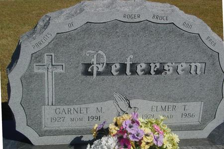 PETERSEN, ELMER & GARNET - Woodbury County, Iowa | ELMER & GARNET PETERSEN