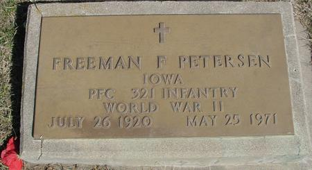 PETERSEN, FREEMAN F. - Woodbury County, Iowa | FREEMAN F. PETERSEN