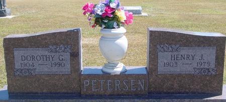 PETERSEN, HENRY & DOROTHY - Woodbury County, Iowa | HENRY & DOROTHY PETERSEN