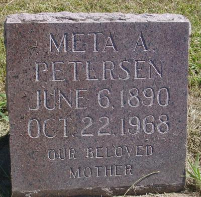 PETERSEN, META A. - Woodbury County, Iowa | META A. PETERSEN