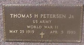 PETERSEN, THOMAS H. - Woodbury County, Iowa | THOMAS H. PETERSEN