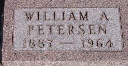 PETERSEN, WILLIAM A. - Woodbury County, Iowa | WILLIAM A. PETERSEN