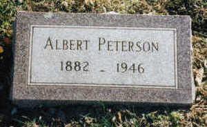 PETERSON, ALBERT - Woodbury County, Iowa | ALBERT PETERSON