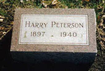 PETERSON, HARRY - Woodbury County, Iowa | HARRY PETERSON