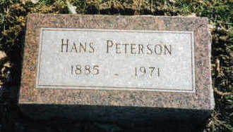 PETERSON, HANS - Woodbury County, Iowa | HANS PETERSON