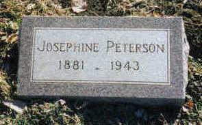 PETERSON, JOSEPHINE - Woodbury County, Iowa | JOSEPHINE PETERSON