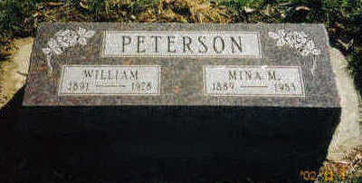 PETERSON, WILLIAM - Woodbury County, Iowa | WILLIAM PETERSON