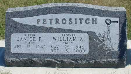 PETROSITCH, WILLIAM A. - Woodbury County, Iowa | WILLIAM A. PETROSITCH