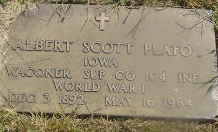 PLATO, ALBERT SCOTT - Woodbury County, Iowa | ALBERT SCOTT PLATO