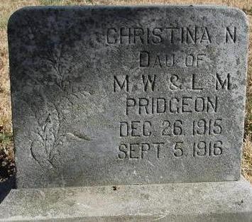 PRIDGEON, CHRISTINA N. - Woodbury County, Iowa | CHRISTINA N. PRIDGEON