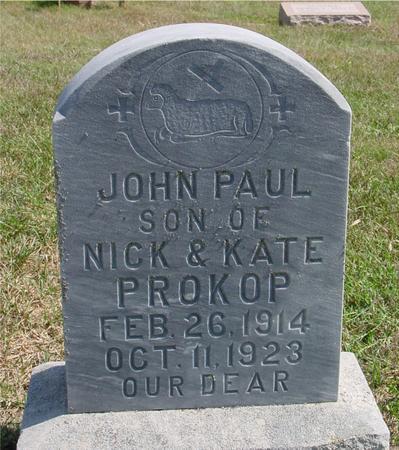 PROKOP, JOHN PAUL - Woodbury County, Iowa | JOHN PAUL PROKOP