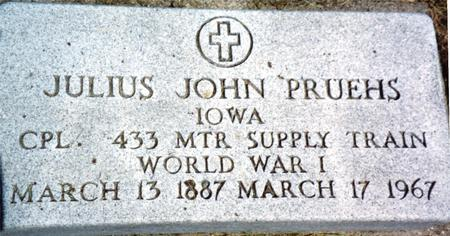 PRUEHS, JULIUS - Woodbury County, Iowa | JULIUS PRUEHS