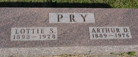 PRY, ARTHUR D. & LOTTIE - Woodbury County, Iowa | ARTHUR D. & LOTTIE PRY
