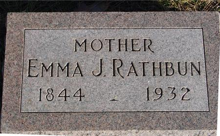 RATHBUN, EMMA J. - Woodbury County, Iowa | EMMA J. RATHBUN
