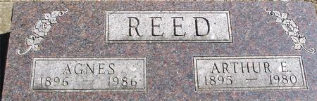 REED, ARTHUR E. & AGNES - Woodbury County, Iowa | ARTHUR E. & AGNES REED