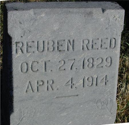 REED, REUBEN - Woodbury County, Iowa | REUBEN REED