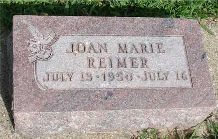 REIMER, JOAN MARIE - Woodbury County, Iowa   JOAN MARIE REIMER
