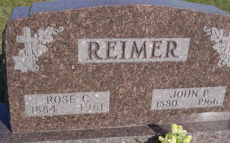 REIMER, JOHN & ROSE - Woodbury County, Iowa | JOHN & ROSE REIMER