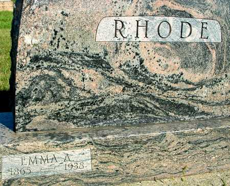RHODE, EMMA - Woodbury County, Iowa | EMMA RHODE