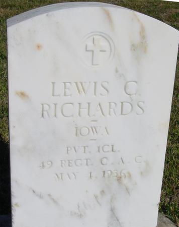 RICHARDS, LEWIS C. - Woodbury County, Iowa | LEWIS C. RICHARDS