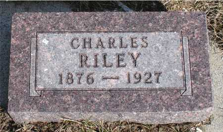 RILEY, CHARLES - Woodbury County, Iowa | CHARLES RILEY