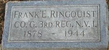 RINGOUIST, FRANK E - Woodbury County, Iowa | FRANK E RINGOUIST