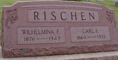 RISCHEN, CARL & WILHELMINA - Woodbury County, Iowa | CARL & WILHELMINA RISCHEN