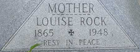 ROCK, LOUISE - Woodbury County, Iowa | LOUISE ROCK