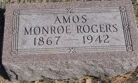 ROGERS, AMOS MONROE - Woodbury County, Iowa | AMOS MONROE ROGERS