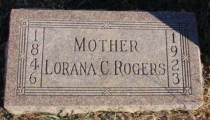 ROGERS, LORANA - Woodbury County, Iowa | LORANA ROGERS