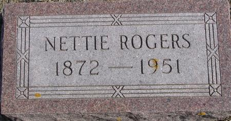 ROGERS, NETTIE - Woodbury County, Iowa | NETTIE ROGERS