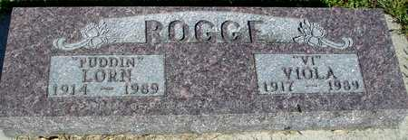 ROGGE, LORN & VIOLA - Woodbury County, Iowa | LORN & VIOLA ROGGE