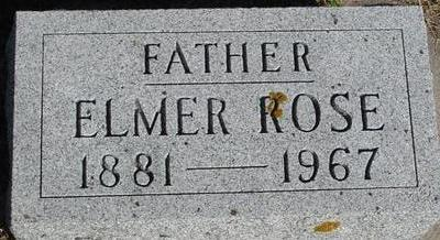 ROSE, ELMER - Woodbury County, Iowa | ELMER ROSE