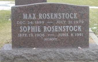 ROSENSTOCK, MAX - Woodbury County, Iowa | MAX ROSENSTOCK