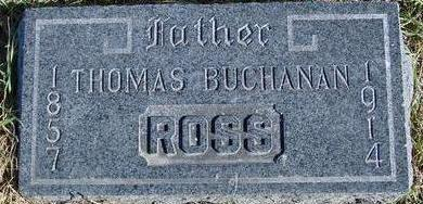 ROSS, THOMAS BUCHANAN - Woodbury County, Iowa | THOMAS BUCHANAN ROSS