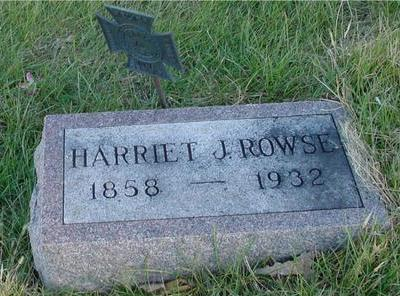ROWSE, HARRIET J. - Woodbury County, Iowa | HARRIET J. ROWSE