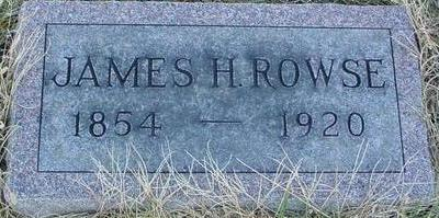 ROWSE, JAMES H. - Woodbury County, Iowa | JAMES H. ROWSE