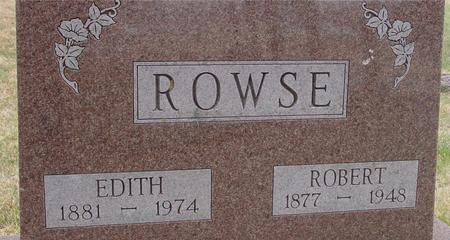 ROWSE, ROBERT & EDITH - Woodbury County, Iowa | ROBERT & EDITH ROWSE