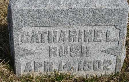 RUSH, CATHARINE L. - Woodbury County, Iowa | CATHARINE L. RUSH