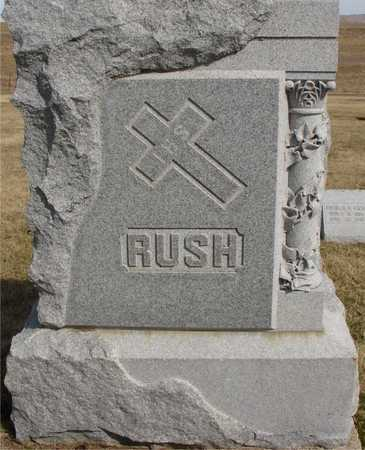 RUSH, FAMILY MARKER - Woodbury County, Iowa | FAMILY MARKER RUSH