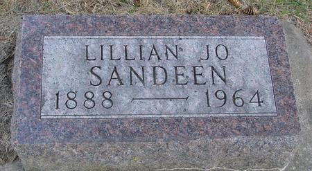 SANDEEN, LILLIAN JO - Woodbury County, Iowa | LILLIAN JO SANDEEN