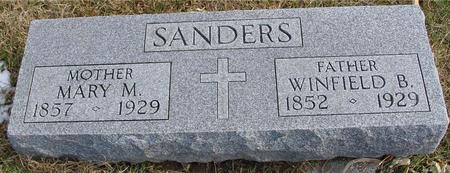 SANDERS, WINFIELD & MARY - Woodbury County, Iowa | WINFIELD & MARY SANDERS
