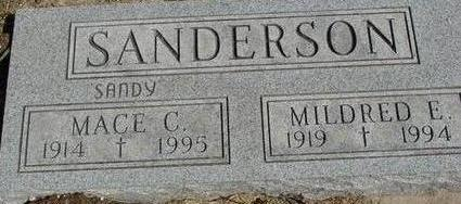 SANDERSON, MACE & MILDRED - Woodbury County, Iowa | MACE & MILDRED SANDERSON