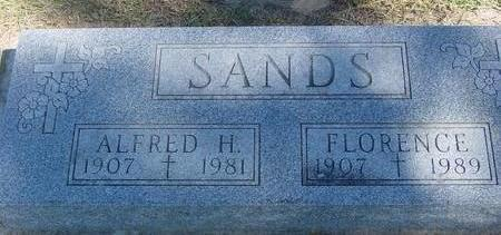 SANDS, ALFRED & FLORENCE - Woodbury County, Iowa | ALFRED & FLORENCE SANDS