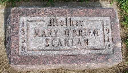 O'BRIEN SCANLAN, MARY - Woodbury County, Iowa | MARY O'BRIEN SCANLAN