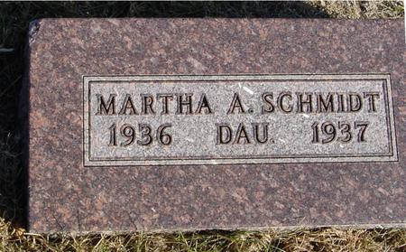SCHMIDT, MARTHA A. - Woodbury County, Iowa | MARTHA A. SCHMIDT